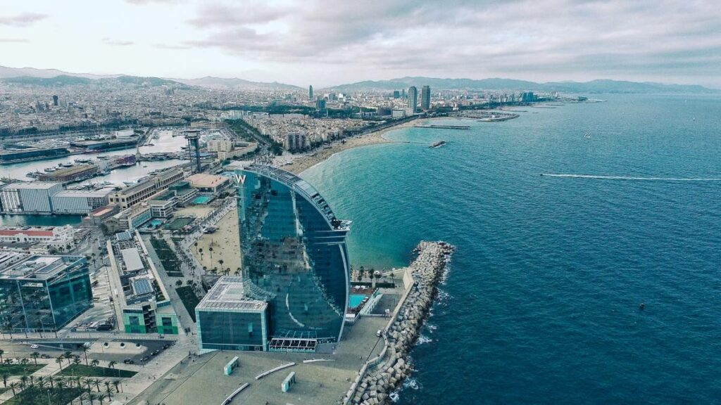 Barcelona most important city in spain