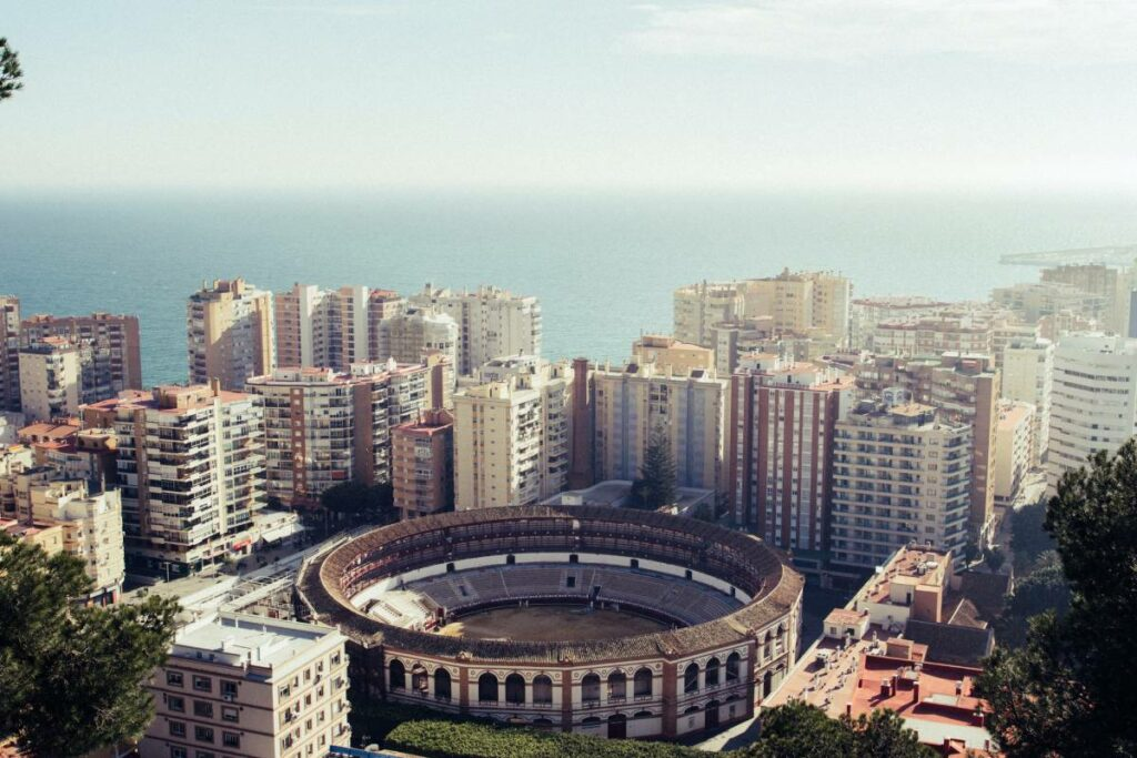 malaga cheapest place live in spain