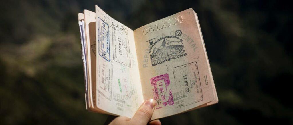 non lucrative visa spain in passport
